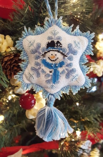 frosty blue item 147 - Frosty Blue Christmas Decorations